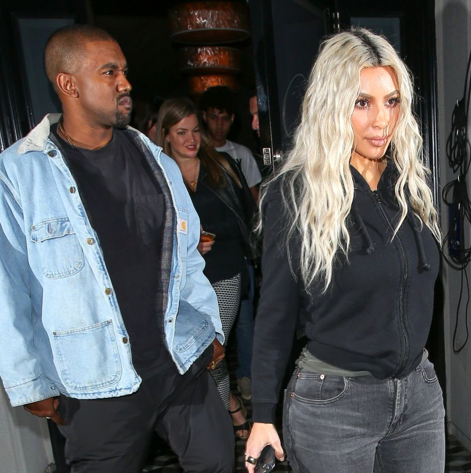 Kim Kardashian and Kanye West: Already competing for their little ...