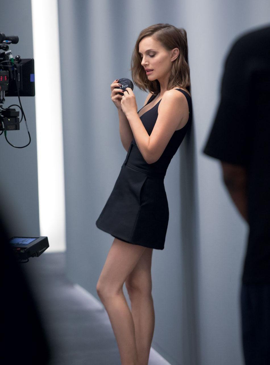 Natalie Portman: The muse Dior seduces the planet Beauty ... натали портман