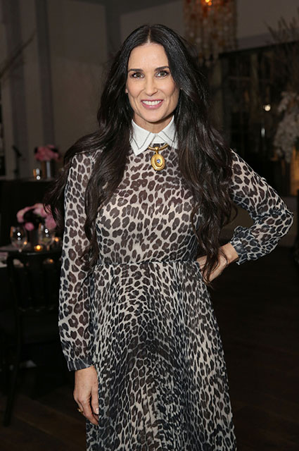 55-year-old Demi Moore...